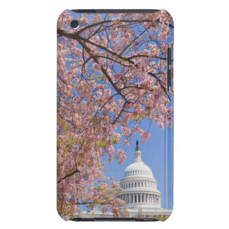 Cherry blossoms in front of Capitol building iPod Touch Cases