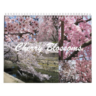 Cherry Blossoms in Japan Calendars