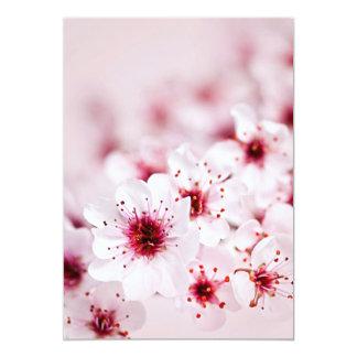 Cherry blossoms personalized invite