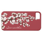 Cherry Blossoms iPhone 5 Case-Mate Case (red)