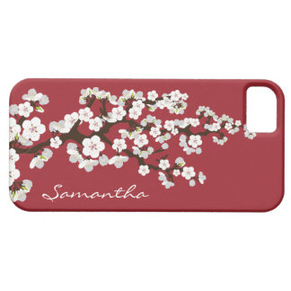 Cherry Blossoms iPhone 5 Case-Mate Case red