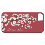 Cherry Blossoms iPhone 5 Case-Mate Case (red) Case For The iPhone 5