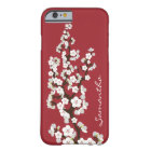 Cherry Blossoms iPhone 6 Case (red)