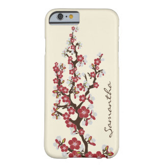 Cherry Blossoms iPhone 6 Case (red) Barely There iPhone 6 Case