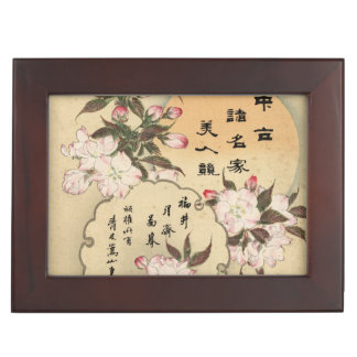 Cherry blossoms keepsake boxes