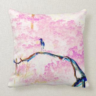 Cherry Blossoms Landscape pillow