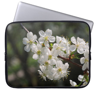 Cherry blossoms laptop computer sleeves