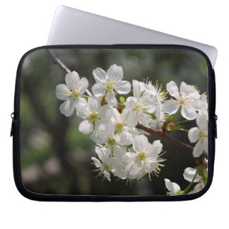 Cherry blossoms computer sleeve
