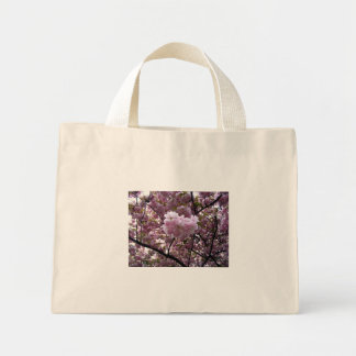 Cherry Blossoms Mini Tote Bag