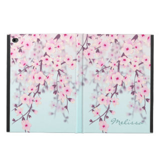 Cherry Blossoms Pastel Monogram Powis iPad Air 2 Case