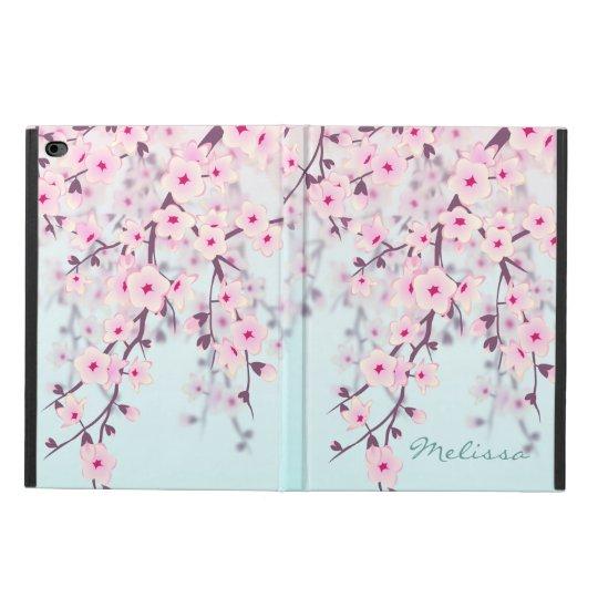 Cherry Blossoms Pastel Monogram Powis iPad Air 2