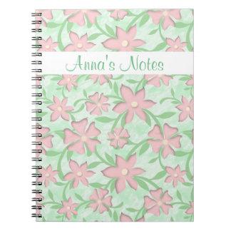 Cherry Blossoms Pink Sakura Bloom Spring Flowers Notebook