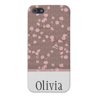 Cherry Blossoms red Cases For iPhone 5