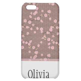 Cherry Blossoms red iPhone 5C Cover