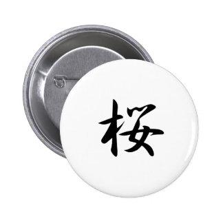 Cherry Blossoms - Sakura 6 Cm Round Badge