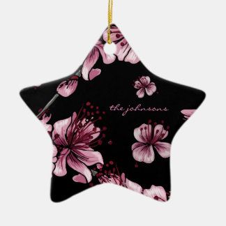 Cherry Blossoms Sakura Christmas Ornament