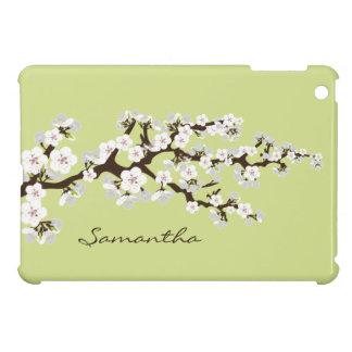 Cherry Blossoms Sakura iPad Mini Case (lime)