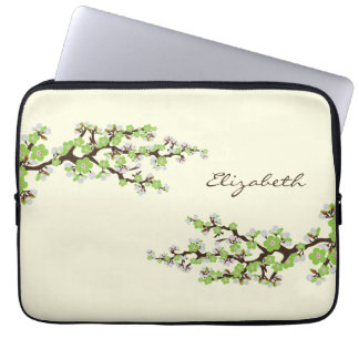 Cherry Blossoms Sakura Laptop Sleeve (apple)