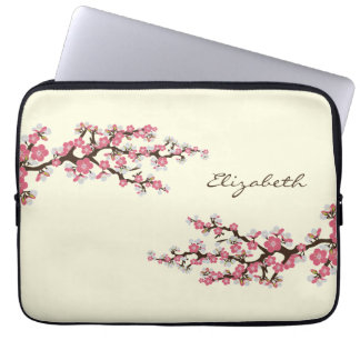 Cherry Blossoms Sakura Laptop Sleeve (pink)