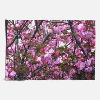Cherry Blossoms Tea Towel