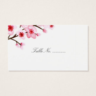 Cherry Blossoms Wedding Place Cards 100 pk