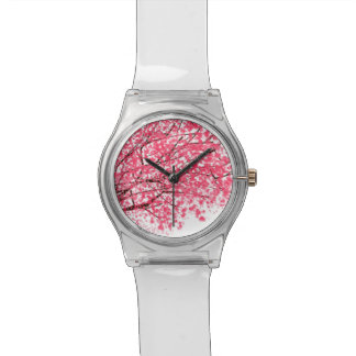 Cherry Blossoms Wrist Watch