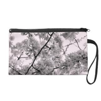 'Cherry Blossoms' Wristlet Purse