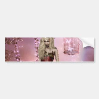 Cherry Blossum Bumper Sticker