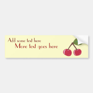 Cherry Bumper Sticker