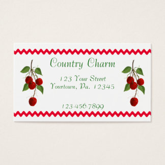 Cherry Bunch Business Card