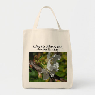 Cherry - California Gardens Grocery Tote Bag