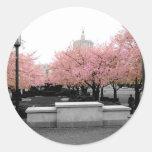 Cherry Capitol Round Stickers