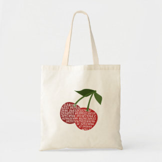 Cherry Complete Pi Tote Bag