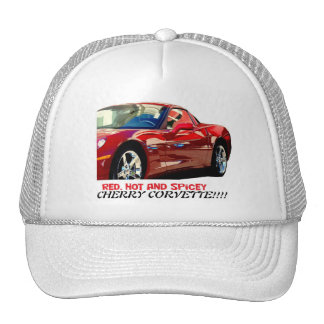 Cherry Corvette Mesh Hat