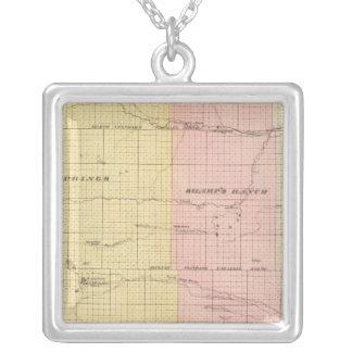 Cherry County, Nebraska Silver Plated Necklace