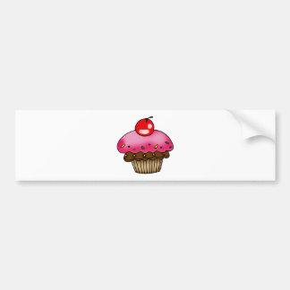 cherry cupcake bumper stickers