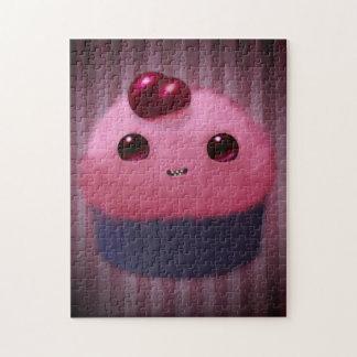 Cherry Cupcake Jigsaw Puzzle