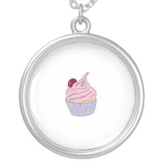 Cherry Cupcake Necklace