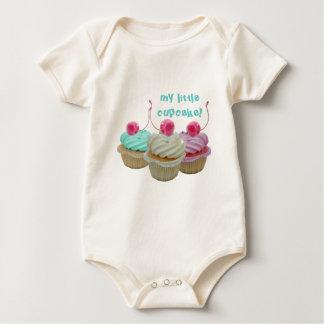 Cherry cupcakes baby bodysuit