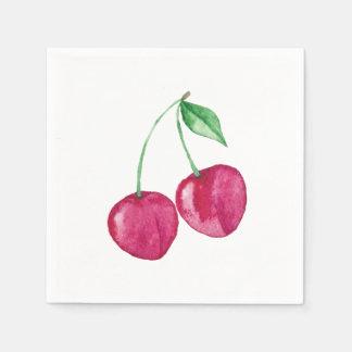 Cherry Disposable Napkins