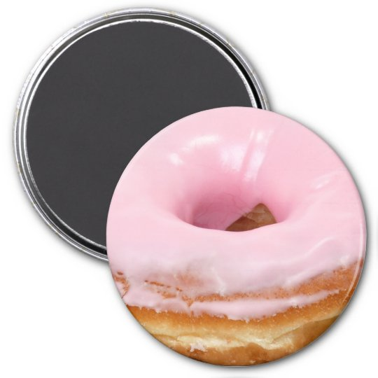 Cherry Doughnut Refrigerator or Locker Magnet