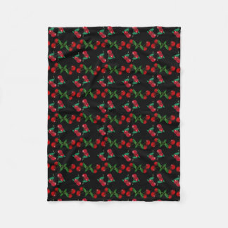 Cherry Elegant Fleece Blanket