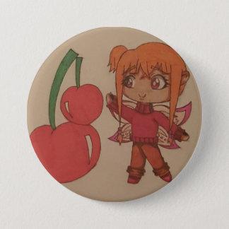 Cherry Fairy 7.5 Cm Round Badge