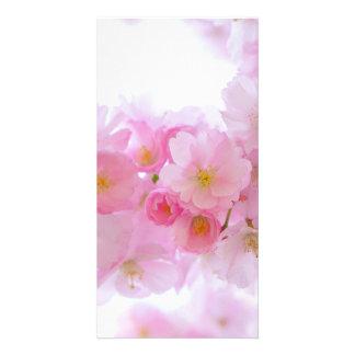 Cherry Flower Customised Photo Card