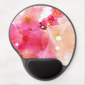 Cherry Flower Gel Mouse Pads