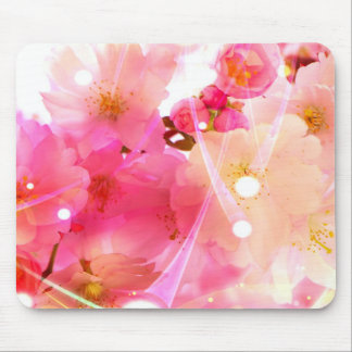 Cherry Flower Mouse Pad