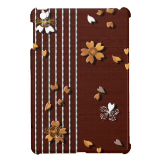 Cherry flowers falling petals iPad mini cover