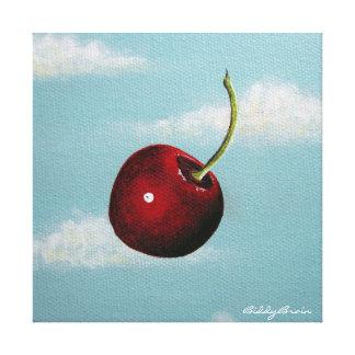 Cherry Free Fall Canvas Print