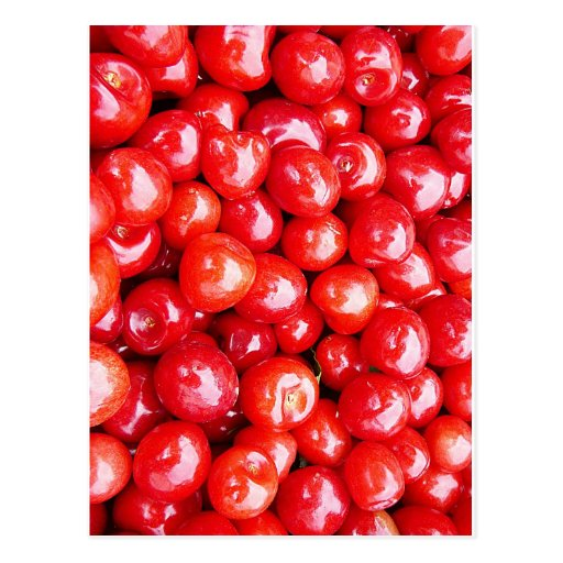 Cherry Fruit Health Remind Healthy Pink Passion Be Post Cards