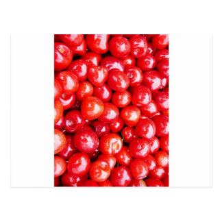 Cherry Fruit Health Remind Healthy Pink Passion Be Postcard